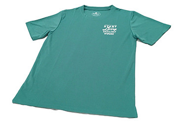 Olomana Quick-Dry T-Shirts for Hawaii Department of Health.