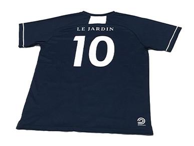 Custom Soccer Kits for Le Jardin Soccer Academy.