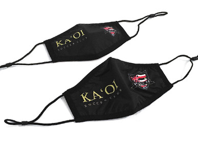 Custom Face Masks for Ka'oi Soccer Club.