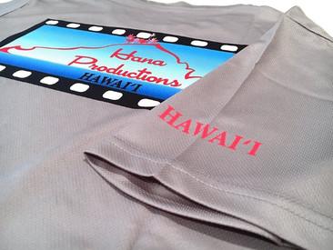Set of T-Shirts, Trucker Hats and Visors for Hana Productions.