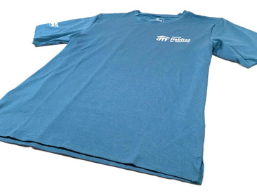 Quick-Dry T-Shirts for Honolulu Habitat for Humanity.