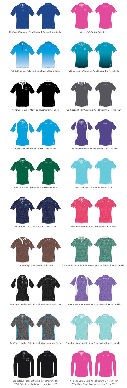 Custom Polo Shirts, Polos, Men's Polos, Women's Polos, Sublimation Polos, Quick-Dry Polos, Cotton Polos
