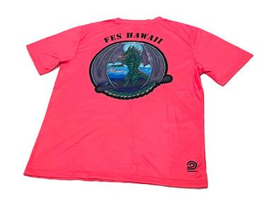 Custom Quick-Dry T-Shirts for Fleet Electronic Support Hawaii.