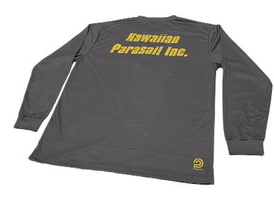 Custom Quick-Dry Long Sleeve T-Shirts for Hawaiian Parasail.
