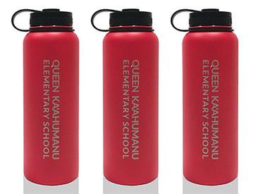 Olomana Custom Flasks for Queen Kaʻahumanu Elementary School.