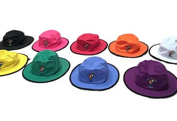 Custom Bucket Hats for Leahi Swim School.