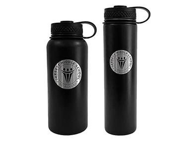 Custom Flasks for Jarrett Middle School.