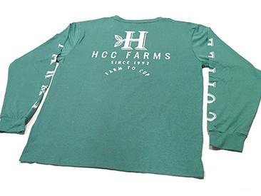 Olomana Long Sleeve T-Shirts for Honolulu Coffee.