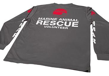 Custom Olomana Quick-Dry Tops for Hawaii Marine Animal Response.