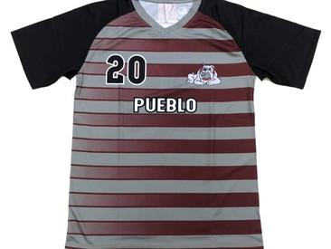 Custom Soccer Kits for Kyrene del Pueblo Middle School in Arizona.