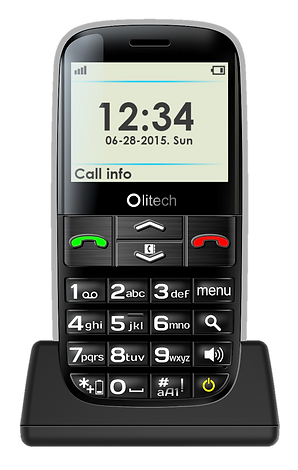 Olitech easy mate+ big button seniors mobile phone
