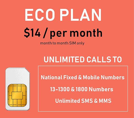 Olitech Telco ECO Mobile Plan