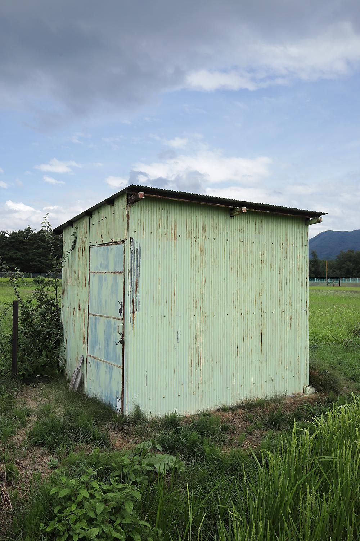 長野県大町市 ポンプ小屋