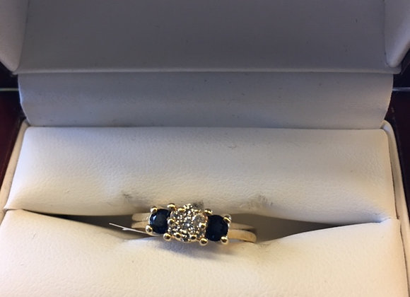 14 KT YELLOW GOLD RING