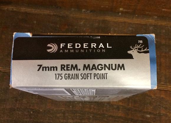 Federal 7mm 175 Grain AMMO