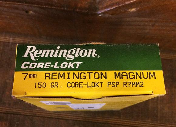Remington 7mm Core Lokt AMMO