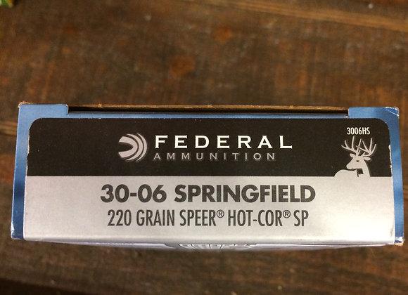 Federal 30-06 220 Gr. AMMO
