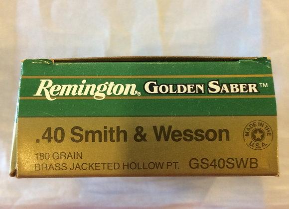 Remington 40 S&W Hollow Point AMMO