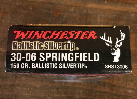 Winchester 30-06 Ballistic Tip 150Gr. AMMO
