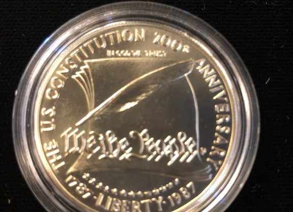 We the People .999 silver coin