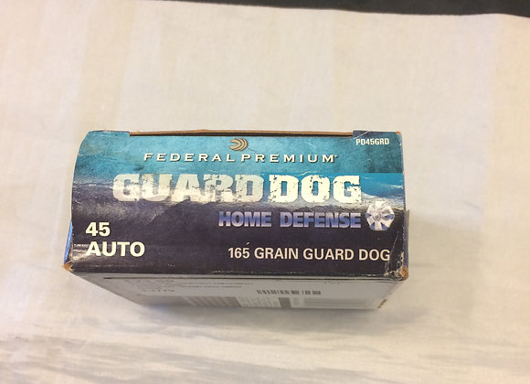 Guard Dog 45 ACP AMMO