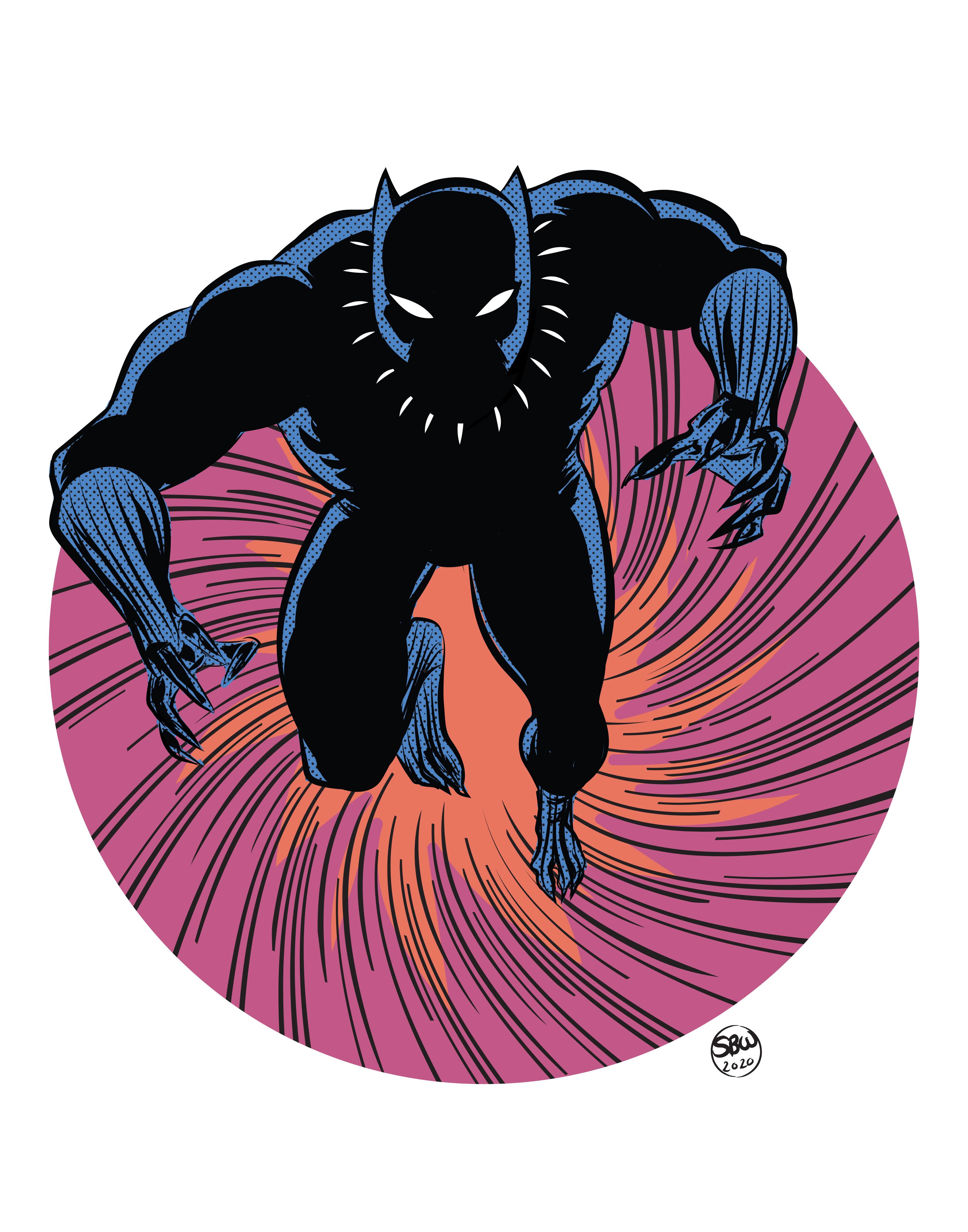 Black Panther 11x14_FA