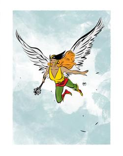 Hawkgirl_11x14_FA