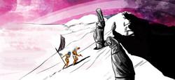 Daring burial_mountain