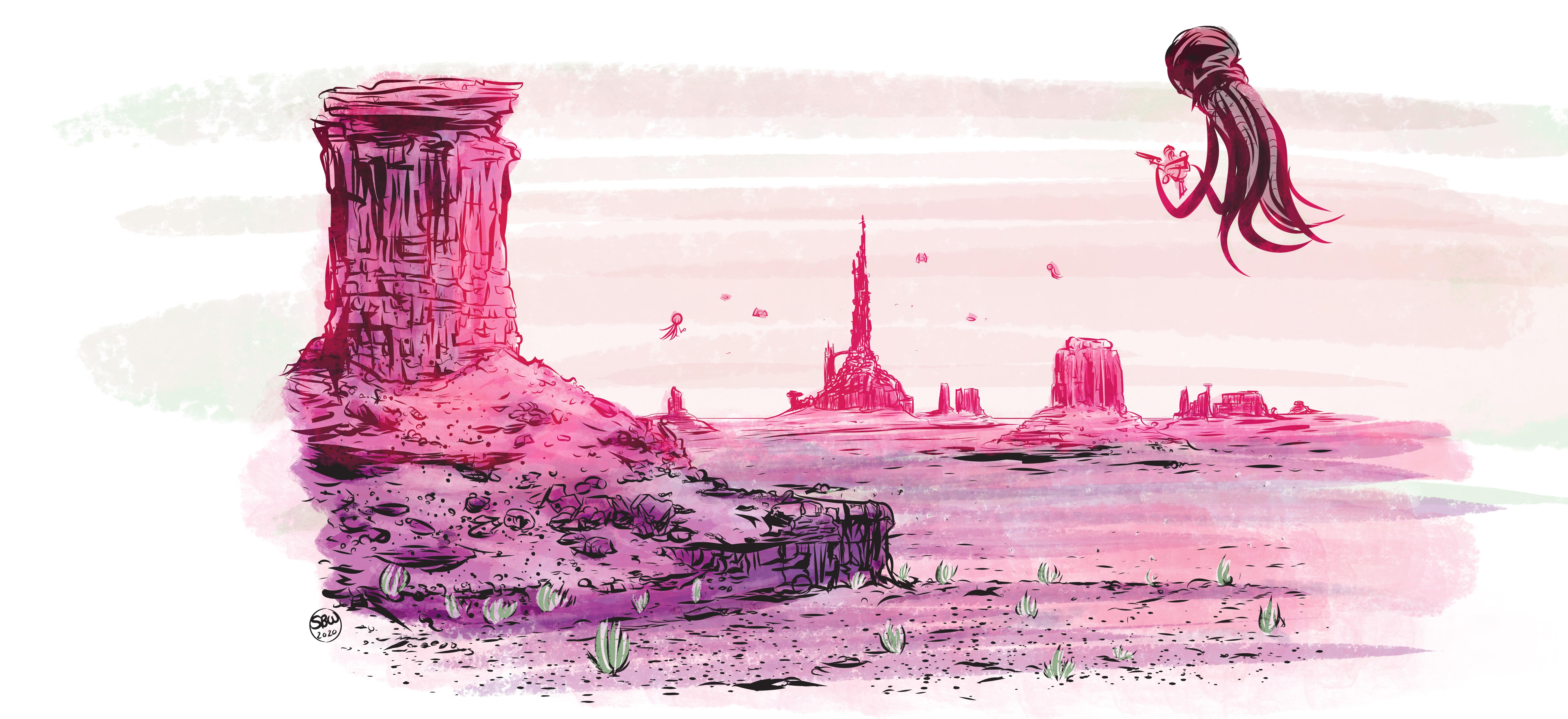 Daring landscape