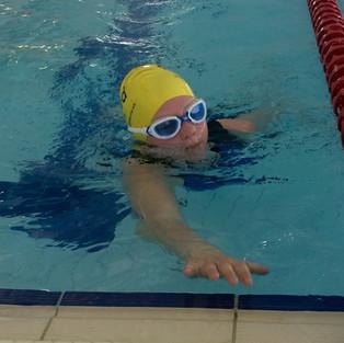 First Pool Swim in a Triathlon