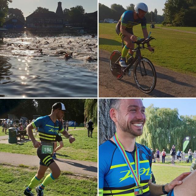 St Neots Qualifying Triathlon - Steven Dews