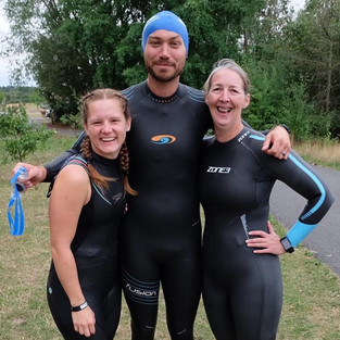 Crazy Half Ironmen at The Blue Lagoon 2018