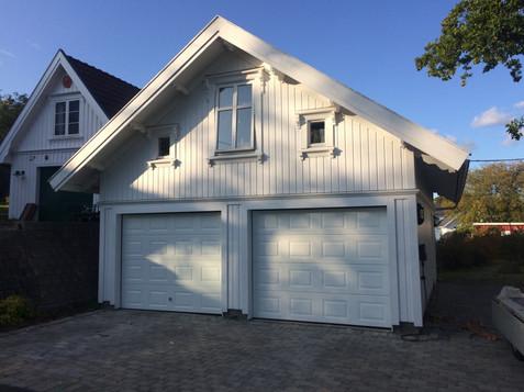 Dobbel Eurodoor Garasjeport