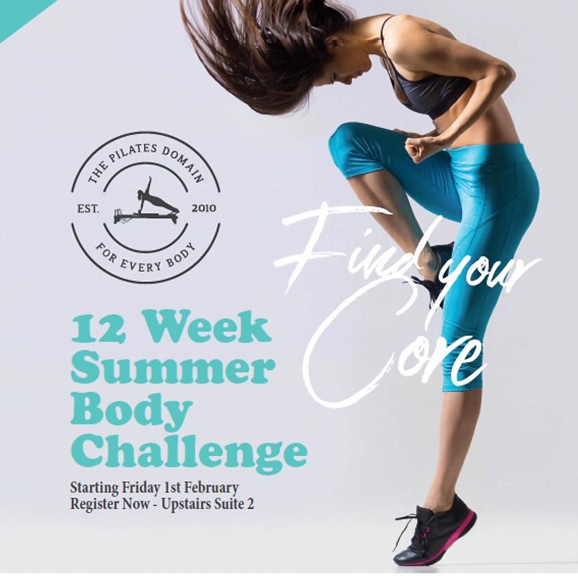 12 Week Summer Pilates Challenge