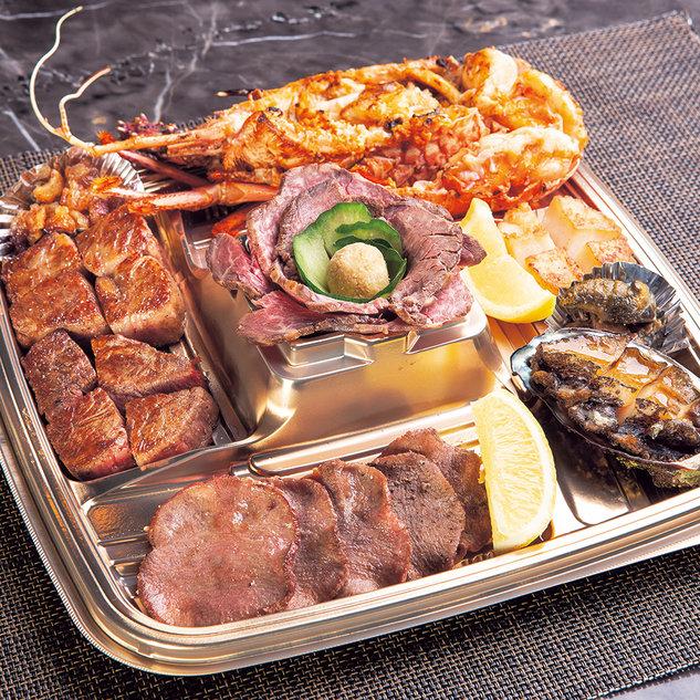 (オードブル)鉄板焼ステーキセット 16,200円
