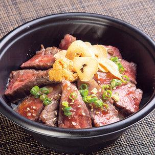 黒毛和牛ステーキ丼 2,484円