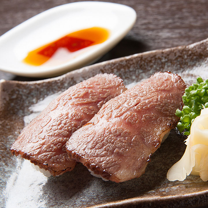 Sushi of beef