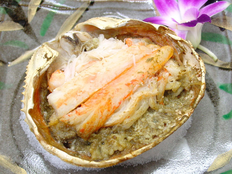 Roasted Crab on the shell