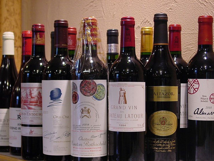More than 50 kinds of wines