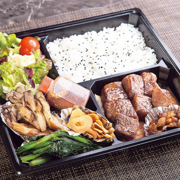 黒毛和牛サーロインステーキ御膳 6,156円