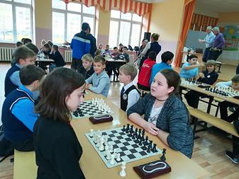 Наш воспитанник на турнире по шахматам