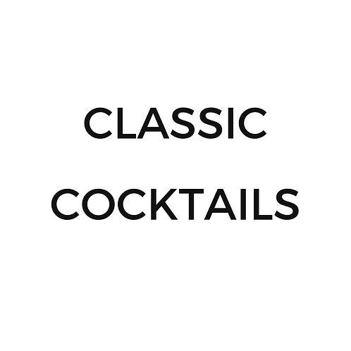 Classic Cocktails (2 Serves)