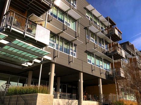 Durham Cohousing building exterior