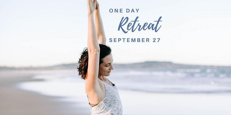 27th September | ONE DAY Retreat