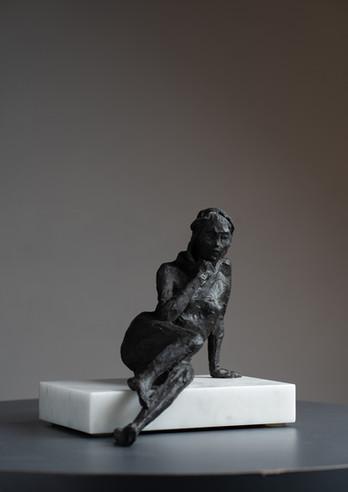 Reclining Thinker (Female), 2021