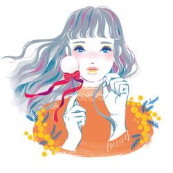 春風と化粧