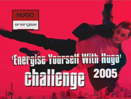 Energise YourSelf With Hugo Challenge by Hugo Energise