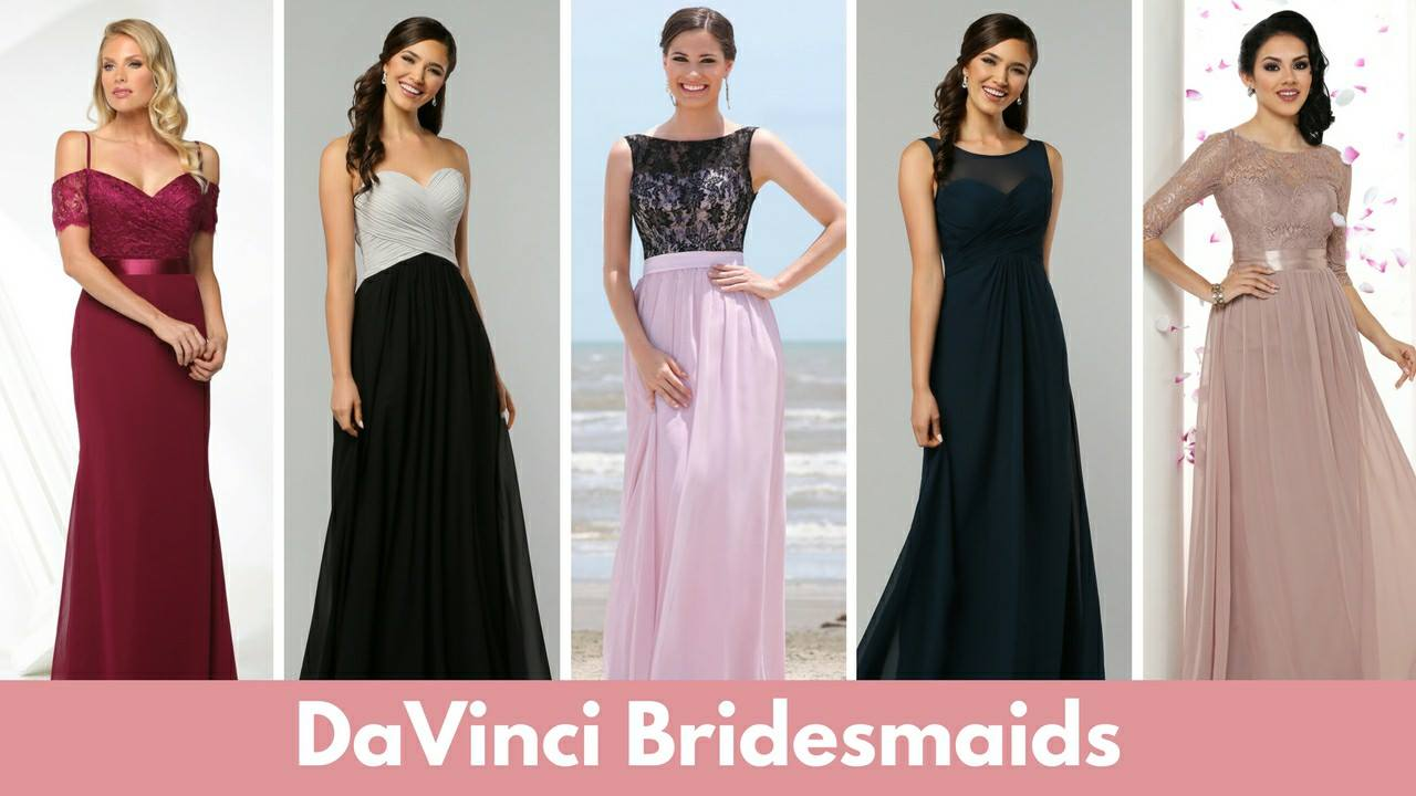 Flattering dresses for all your bridesmaids!