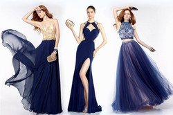 Blue Hues for Prom!