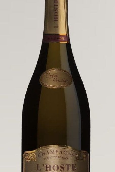 6 flessen champagne L'Hoste Prestige